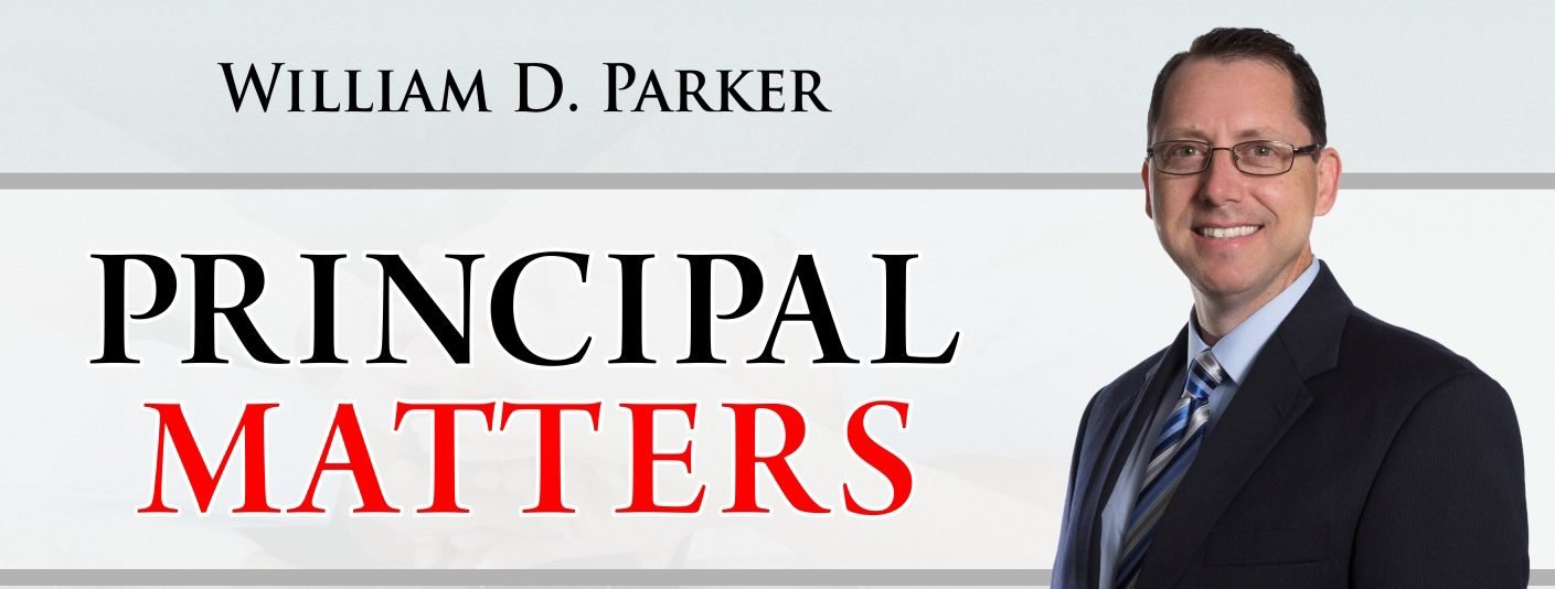 william d parker principal matters learning growing as school
